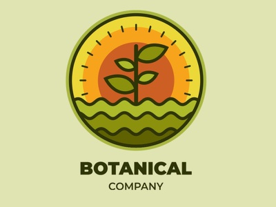 Botanical Logo logotype identity company sign vector symbol modern professional icon brand nature botanical logo illustration design creative concept branding 3d letter 3d