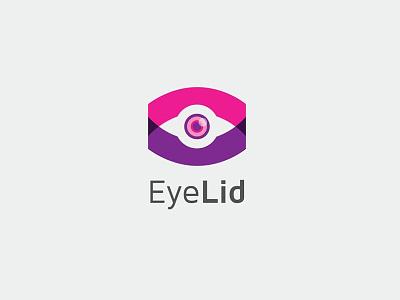 EyeLid Logo Template motion graphics graphic design 3d animation ui mockup vector logo eyelogo vector logo illustration abstract design creative concept branding 3d letter