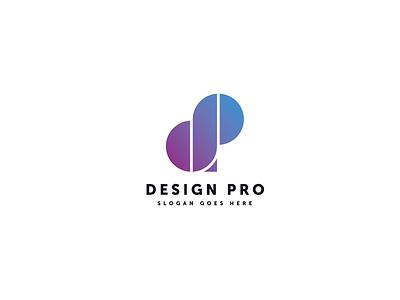 Design Pro Logo Template motion graphics graphic design 3d animation vector ui logo illustration abstract design creative concept branding 3d letter design pro