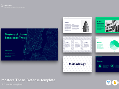 Master Thesis defence template modern simple motion graphics student typography thesis slides pitch deck google slides template landing page presentation powerpoint graphic design design concept branding creative master thesis master