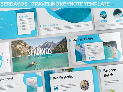 Serdavos - Traveling events donation web maintance web development graphic design purpose multipurpose vector powerpoint abstract illustration design concept branding creative pitch deck google slides keynote presentation taveling