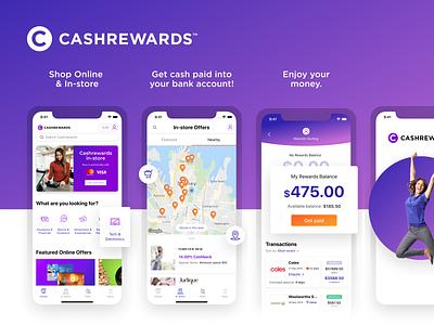 Cash Rewards uxdesign ui design app development app design ux ui