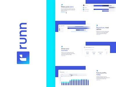 Runn web design 2 app saas uidesign uxdesign webdesign ux ui