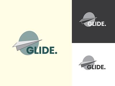 #DLC - Day 25: Paper airplane logo simple logo minimal glide logo paper airplane logo graphic design flat logo logo mark vector logo design logo illustration design daily logo challenge branding