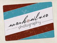 Sarah Silver Logo Rev03
