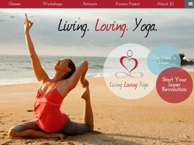 Living loving yoga