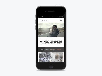 Mindjumpers website redisign