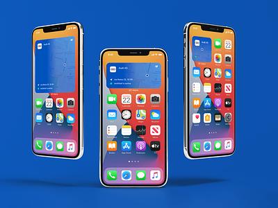 GT-Alarm new widget for iOS 14 mobile ui ios14 ui