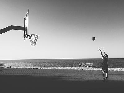 I love this game basketball