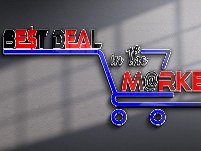 Online Shop Logo vector illustration design logo ilustrator graphic design 3d