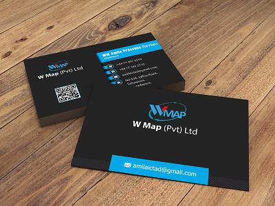 Business Card (Temp 1) vector illustration design logo ilustrator 3d graphic design