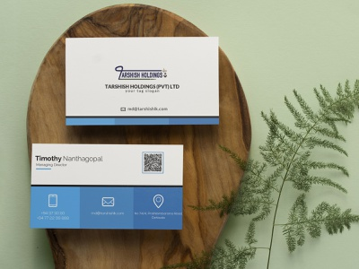 Business Card (Temp 3) vector illustration design logo ilustrator graphic design 3d