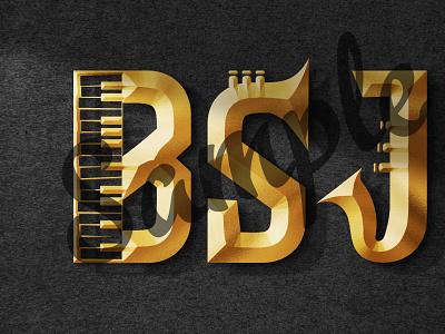Golden 3D logo Design vector illustration design logo ilustrator graphic design 3d