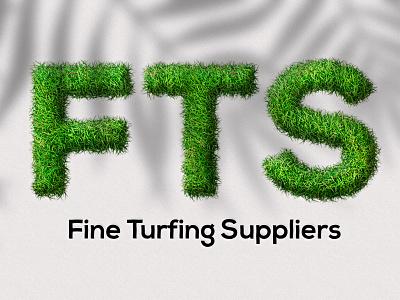 Order From Fiverr. (Grass effect ) vector illustration design logo ilustrator graphic design 3d