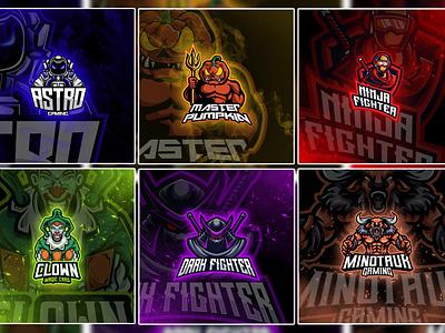 Mascot Logo Designs vector illustration design logo ilustrator graphic design 3d