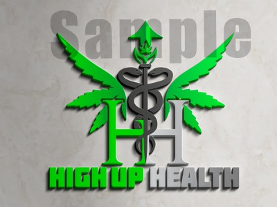 Health Logo vector illustration design logo ilustrator graphic design 3d