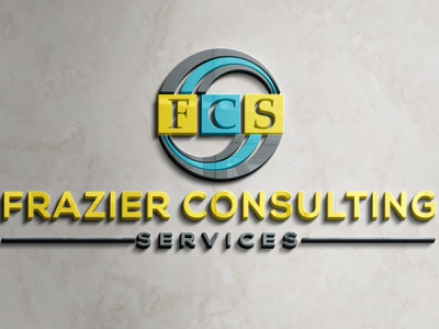 Frazier Consulting (Order From Fiverr) vector illustration design logo ilustrator graphic design 3d