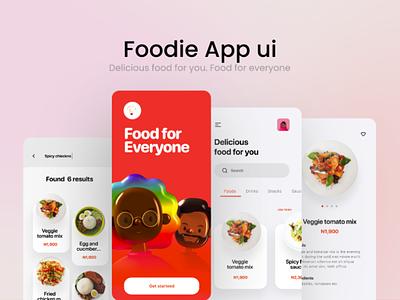 Food Delivery App UI design icon graphic design ux branding ui design
