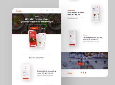 Food Delivery App UI design Web View design branding icon ux ui uiapp design uiapp graphic design