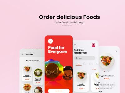Food Delivery App UI design Home Page uidesign design icon uiapp ux ui branding graphic design