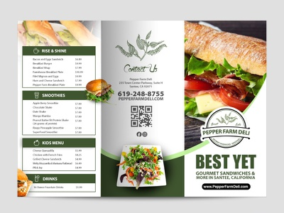 Menu Design typography brochure design vector illustration design motion graphics logo branding graphic design