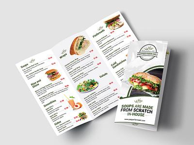 Menu Design brochure design menu card menu design menu typography illustration design icon graphic design branding
