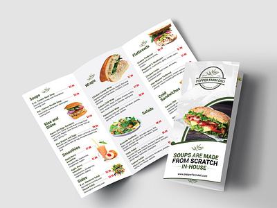 Menu Design typography illustration vector design icon branding menu design graphic design