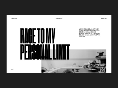 Typography Chapter - [Online Course] racing editorial layouts hierarchy courses class course online typography web minimalistic webdesign ui