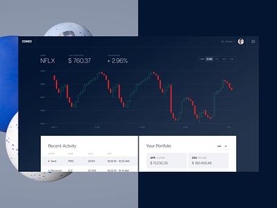 Coinex - Crypto Exchange ux interface ui mobile payment bank money litecoin ethereum bitcoin crypto exchange crypto wallet crypto cryptocurrency