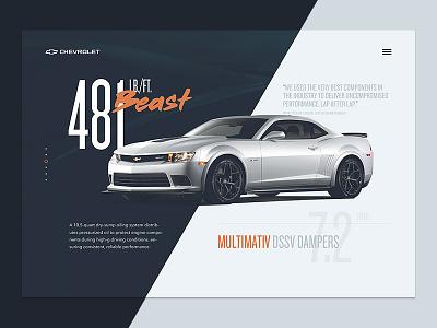 Chevrolet Camaro Detail redesign car concept z28 camaro chevrolet