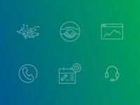 Unitymedia Enterprises Icons
