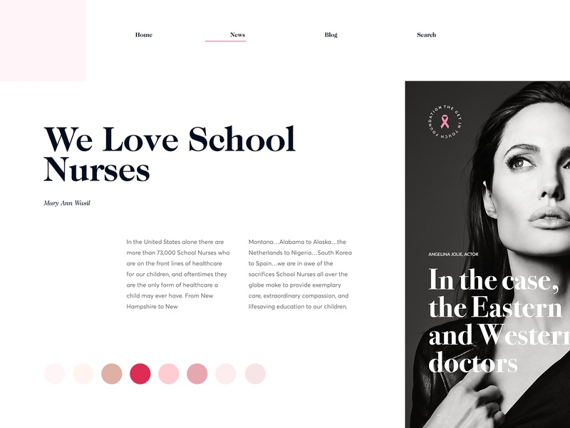 Exploration Board  // Day 69 daily typography interaction landing minimalistic ui ux web user interface webdesign site fashion magazine editorial website