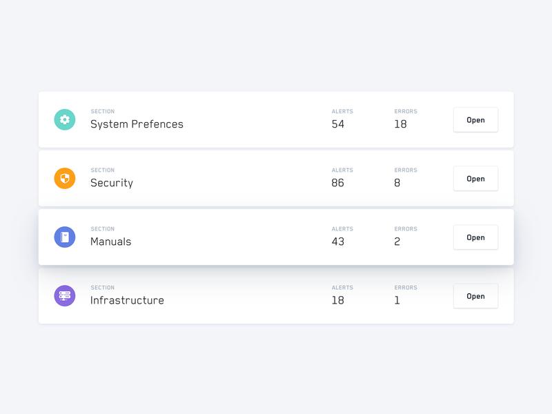 Dashboard - Detail // Day 71 dashboad minimalistic interaction webdesign ux interface ui
