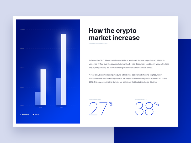 Crypto Statistics // Day 74 stats statistic crypto currency crypto interface ux ui