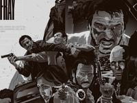Liam Neeson Tribute Artwork