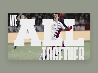 U.S. Women's National Soccer Team Concept - Exploration