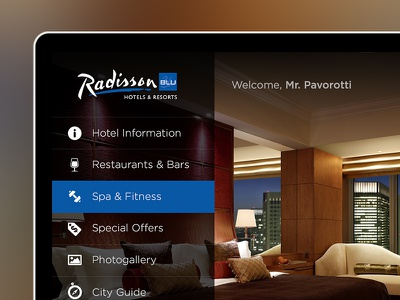 Hotel TV System Design hotel tv television hospitality design ui ux hotel tv