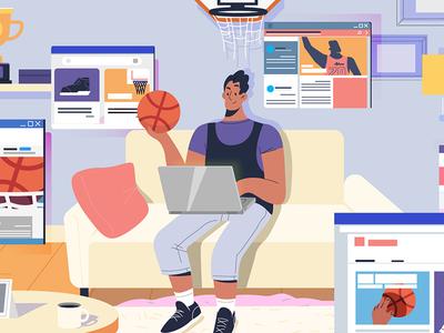 Fan360 frame sport guy desktop sport news sport guy basket