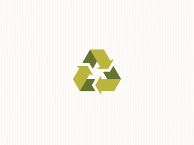 Recycle reuse recycling green recycle logo symbol icon