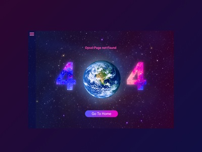404 Error page design concept dailyui ux vector ui typography logo illustration icon design branding app