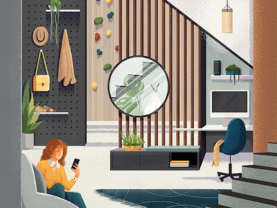 Guararapes architecture design art editorial editorial illustration illustration