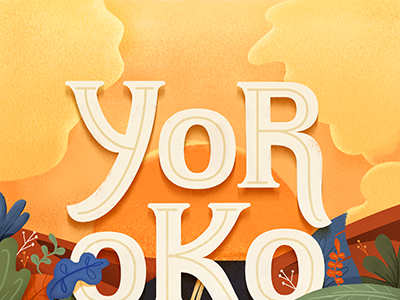Yorokobu La02 Driblle editorial magazine yorokobu lettering cover illustration