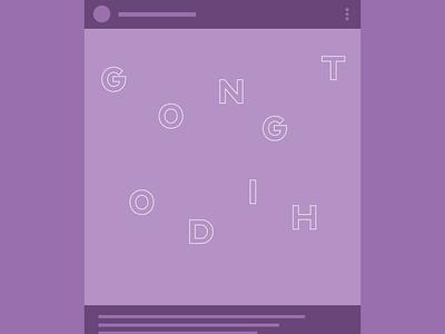 Lavender Animation typogaphy logodesign social product motion animation