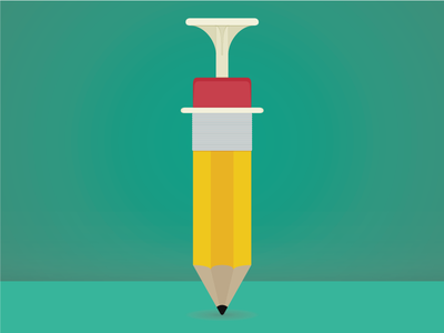 Needle Pencil needle pencil illustration