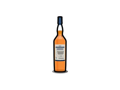 Tallisker drink whisky icon tallisker whiskey bottle affinity designer