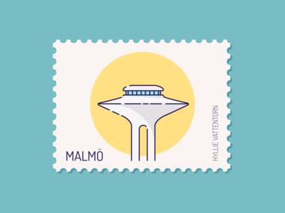 Malmo - Hyllie vattentorn