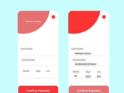 credit card checkout #dailyuichallenge 002 design ui
