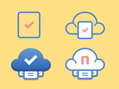 Logo Concepts logo logos branding brand cloud file icon email