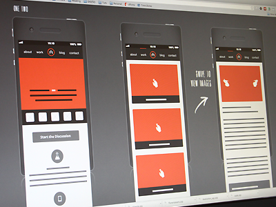 Ble wireframes