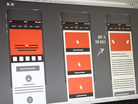 Responsive Mobile Wireframes